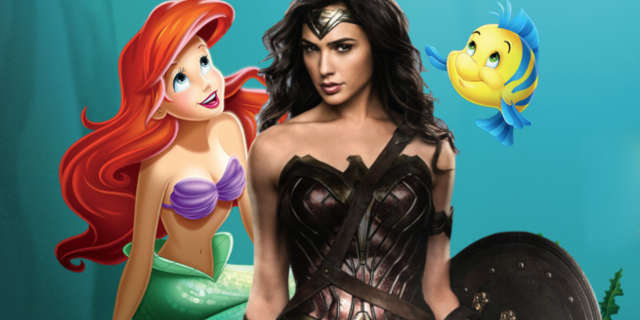 wonder woman little mermaid influences allan heinberg