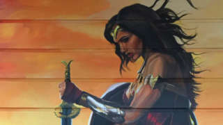 Wonder Woman Mural Sydney Australia
