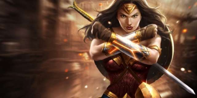 wonder woman mythic