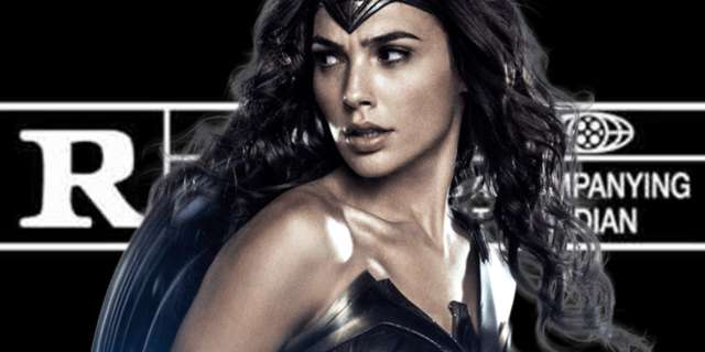 wonder woman rated r