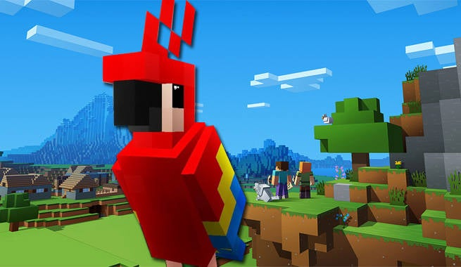 Minecraft will no longer use cookies to breed parrots