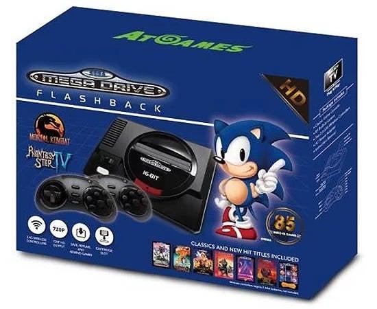 Sega genesis mini console promises nes classic edition - Atgames sega genesis classic game console game list ...