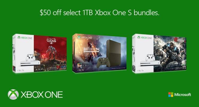 Xbox One 1TB Console Bundles Get A Temporary Discount