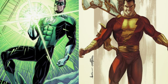 Armie Hammer Green Lantern Shazam