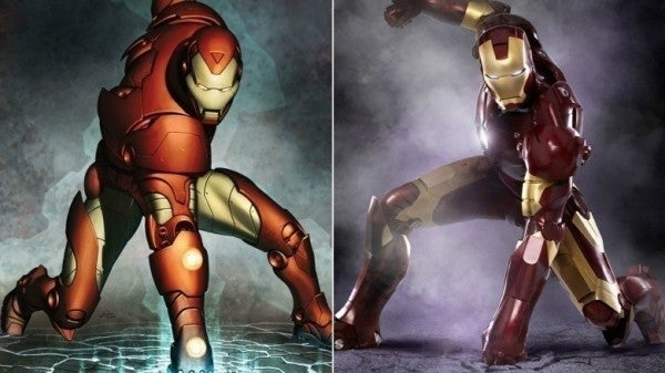 ... Avengers Comics vs Movie Costumes - Iron Man & What the MCU Avengers Look Like In Marvel Comics Costumes