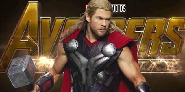 avengers infinity war chris hemsworth thor behind the scenes video