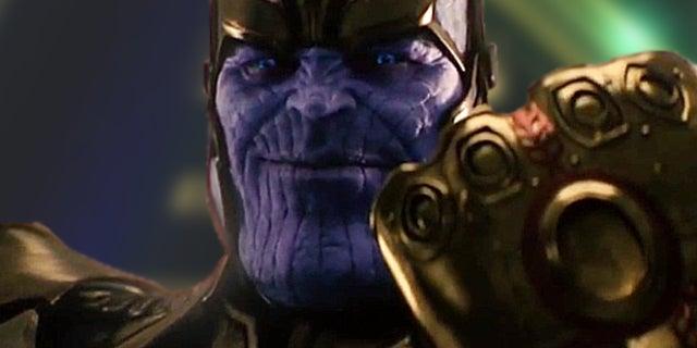 avengers infinity war thanos poster