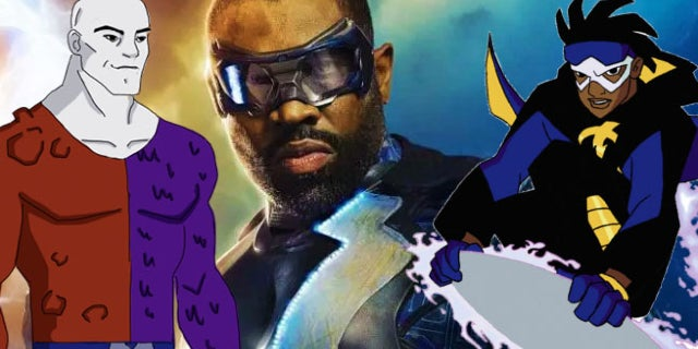 black lightning characters