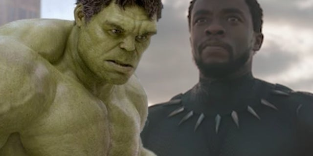 black panther hulk avengers infinity war