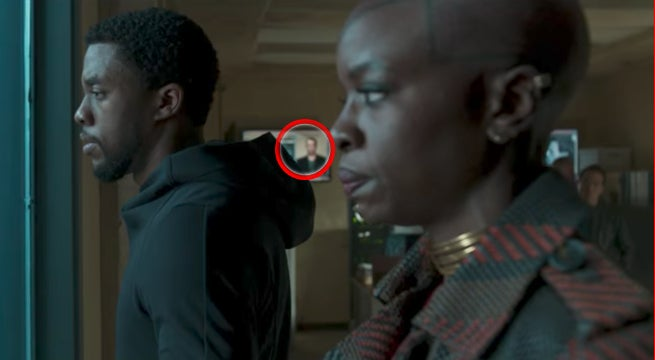 Black Panther Movie Trailer Captain America Easter Egg Teaser