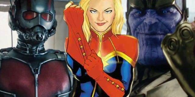 captain marvel ant man thanos