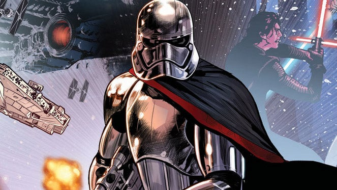captain phasma comic last jedi