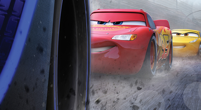 'Cars 3' laps the competition at the box office