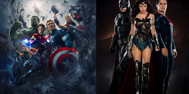 DC and Marvel Movies