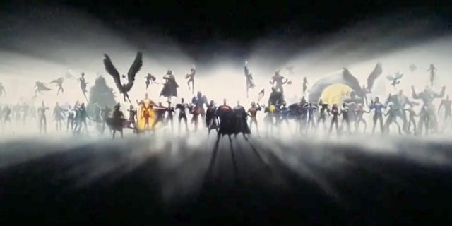 DC Extended Universe Movie Intro - New Characters Revealed