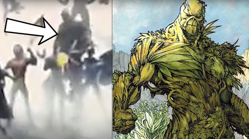 DC Movie Intro - Swamp Thing