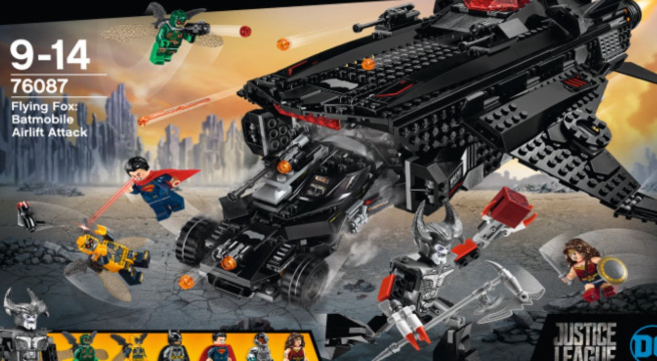 EXCLUSIVE LEGO Unveils Awesome Justice League Movie Sets