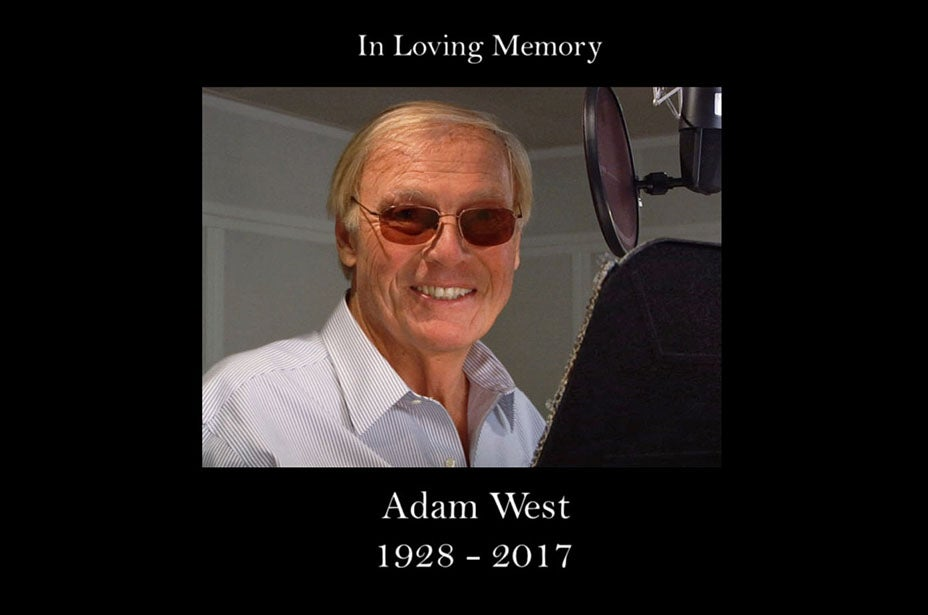 Family Guy Adam West Tribute