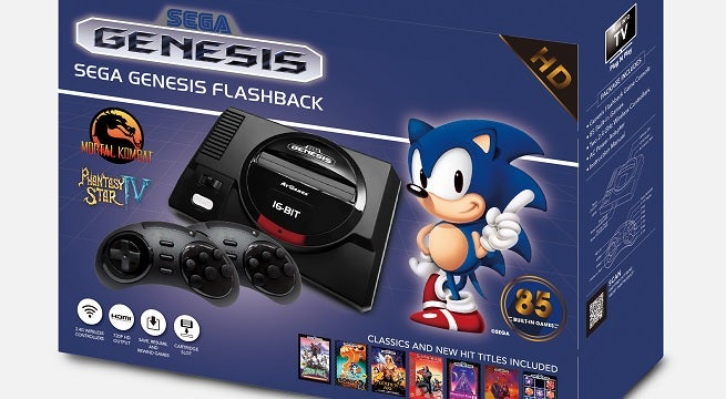 Two New Sega Consoles And A Handheld Packed With Retro
