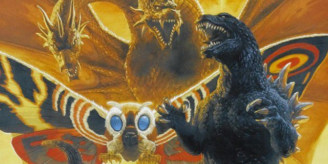 Godzilla 2 King of Monsters - Rodan, Mothra, Ghidorah