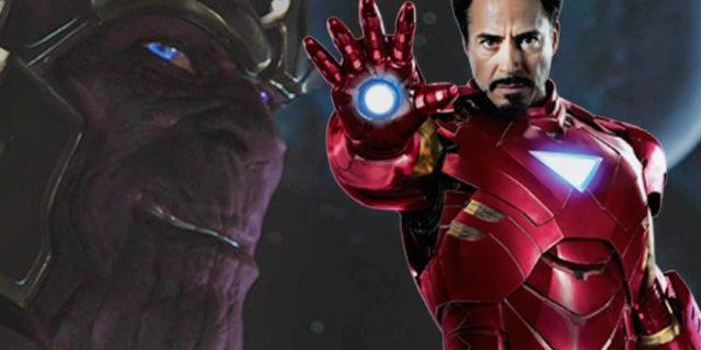 iron man thanos infinity war