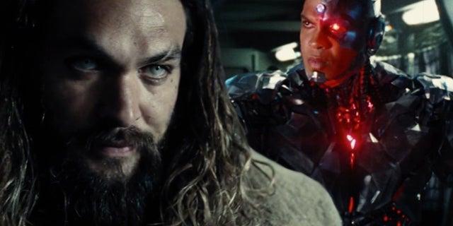 justice league aquaman cyborg