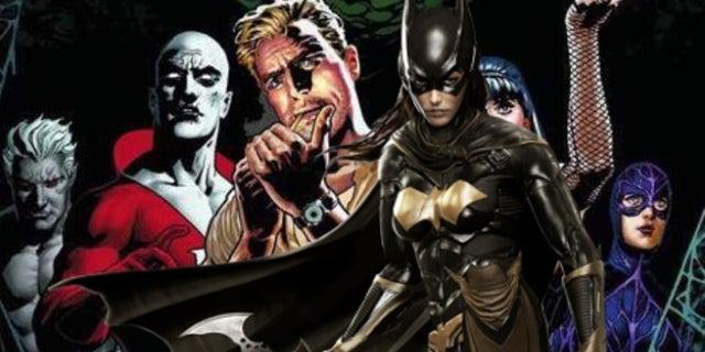 Justice League Dark Batgirl movies