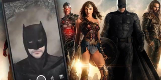 justice-league-facebook-filters
