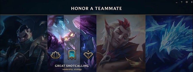 how to lose honor in lol