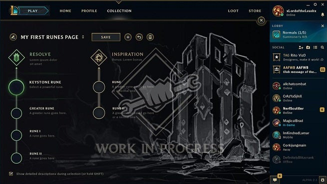 New Rune System League Of Legends