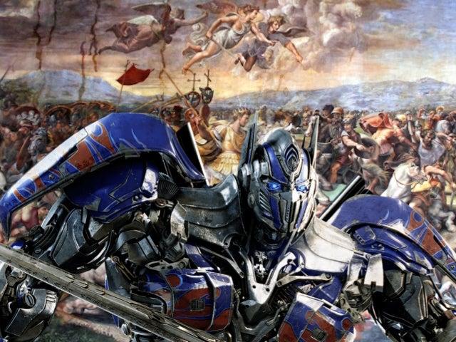 list-roman-civil-war-Battle of the Milvian Bridge by Giulio Romano optimus-prime
