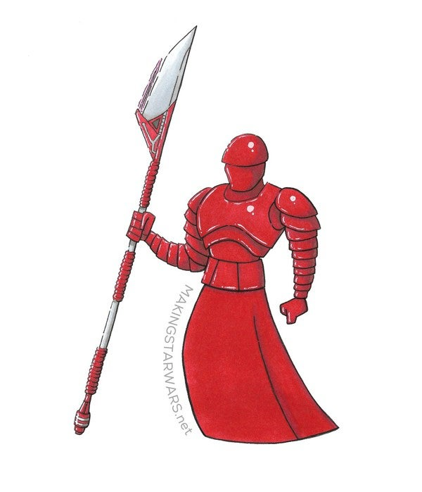 Making Star Wars The Last Jedi Elite Praetorian Guard