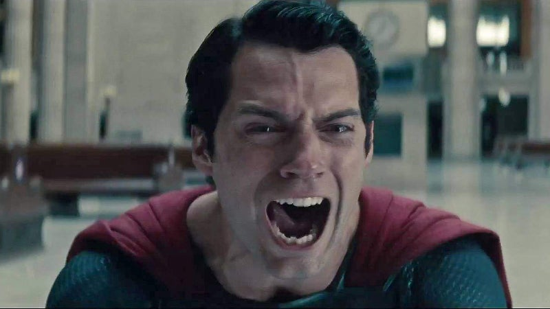 Man of Steel Superman Kills Zod Scream