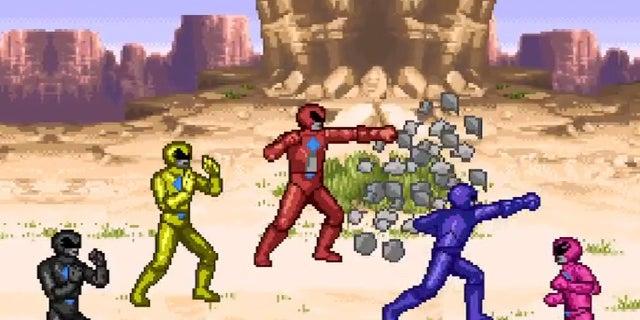 Power-Rangers-8-Bit
