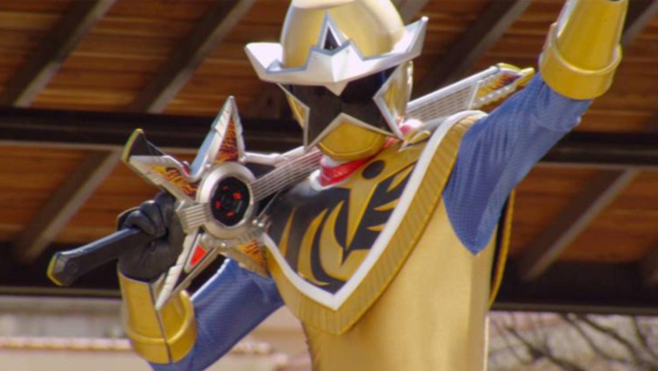 & Power Rangers Ninja Steel: Gold Rangeru0027s Weapon Name Revealed
