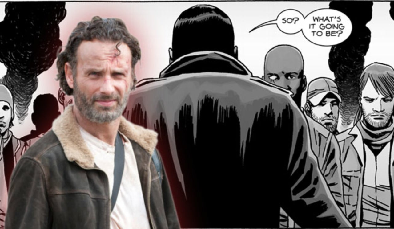 rick army vs negan final fight