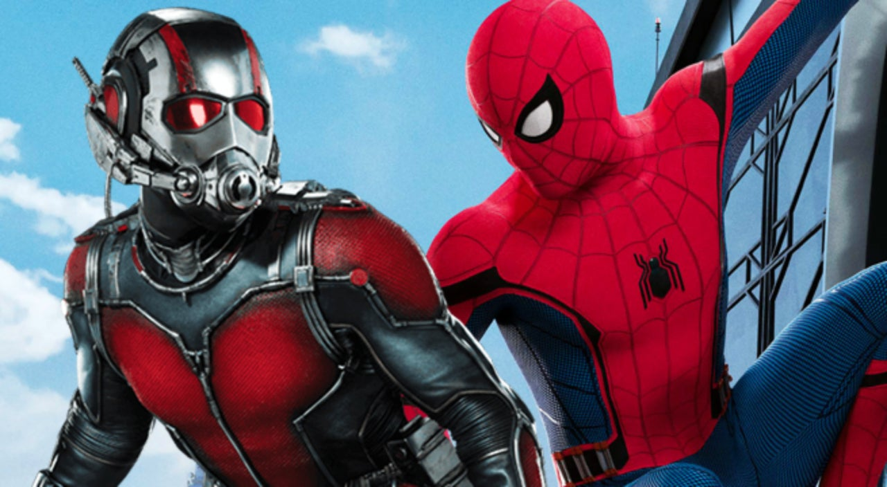 tom holland endorses a spider man and ant man team up