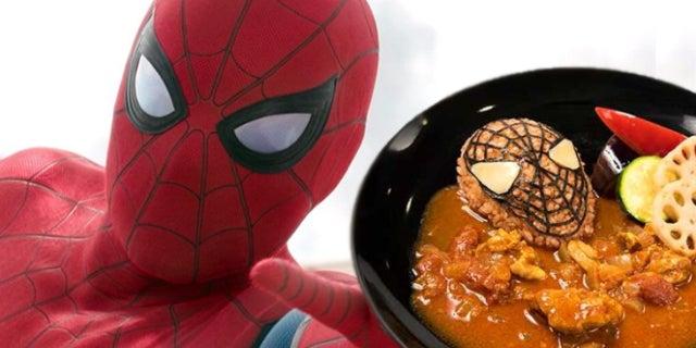 spider-man cafe
