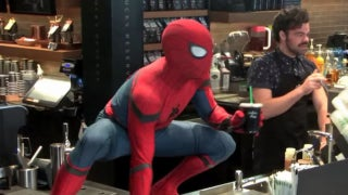 Spider-Man-Coffee-Prank