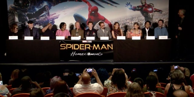 spiderman conference
