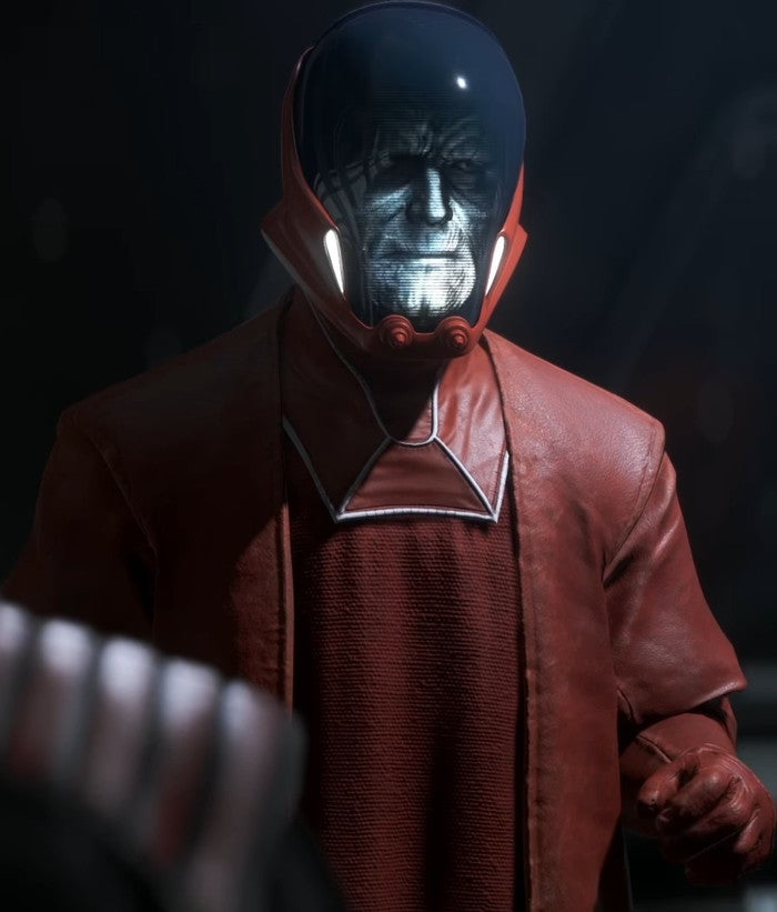 star wars battlefront ii emperor palpatine sentinel droid