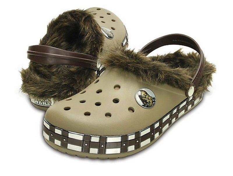 star wars crocs wookiee
