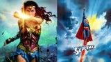 Superman (1978) vs Wonder Woman Movie Poster