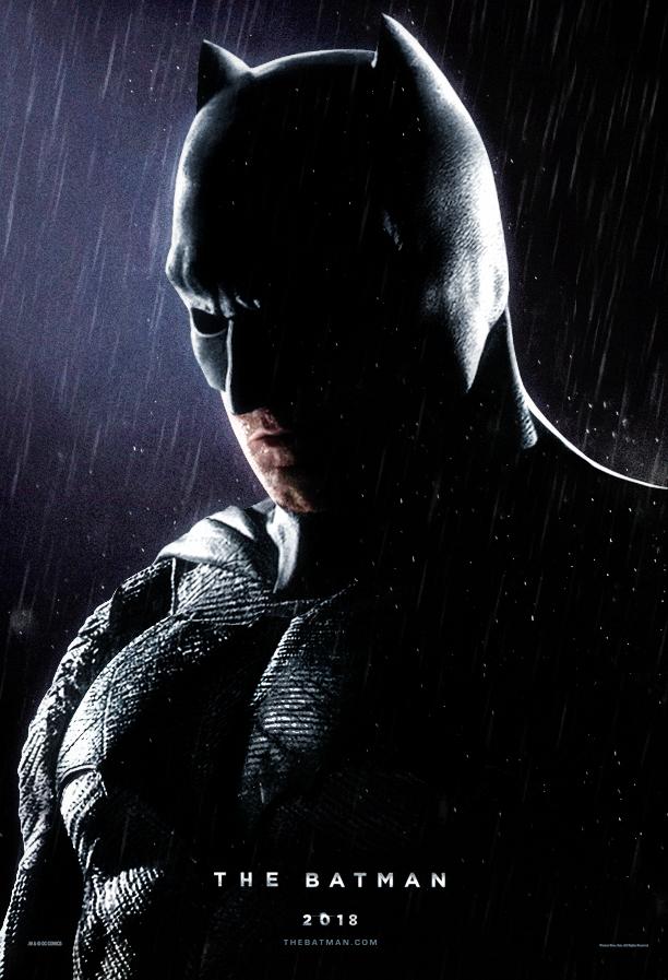 The Batman Fan Poster Features Dark and Brooding Ben Affleck