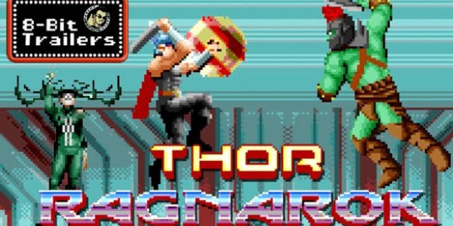 Thor: Ragnarok Gets An 8-Bit Trailer