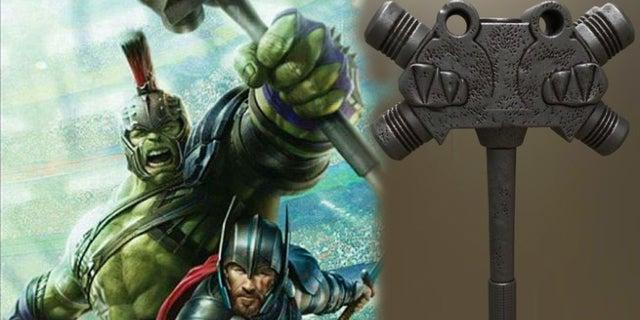 thor ragnarok hulk hammer 3d printing