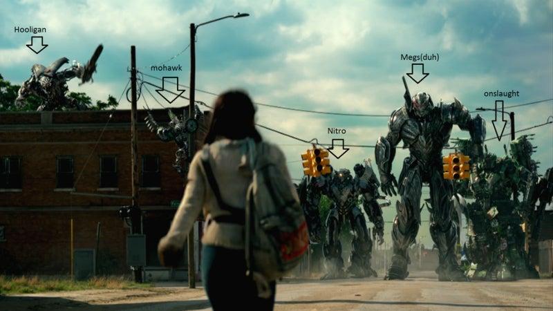 Transformers 5 New Decepticons