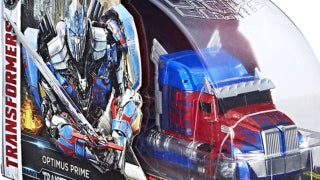 TRANSFORMERS THE LAST KNIGHT VOYAGER CLASS OPTIMUS PRIME Figure-Header