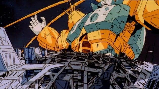 Unicron-attacks-Cybertron