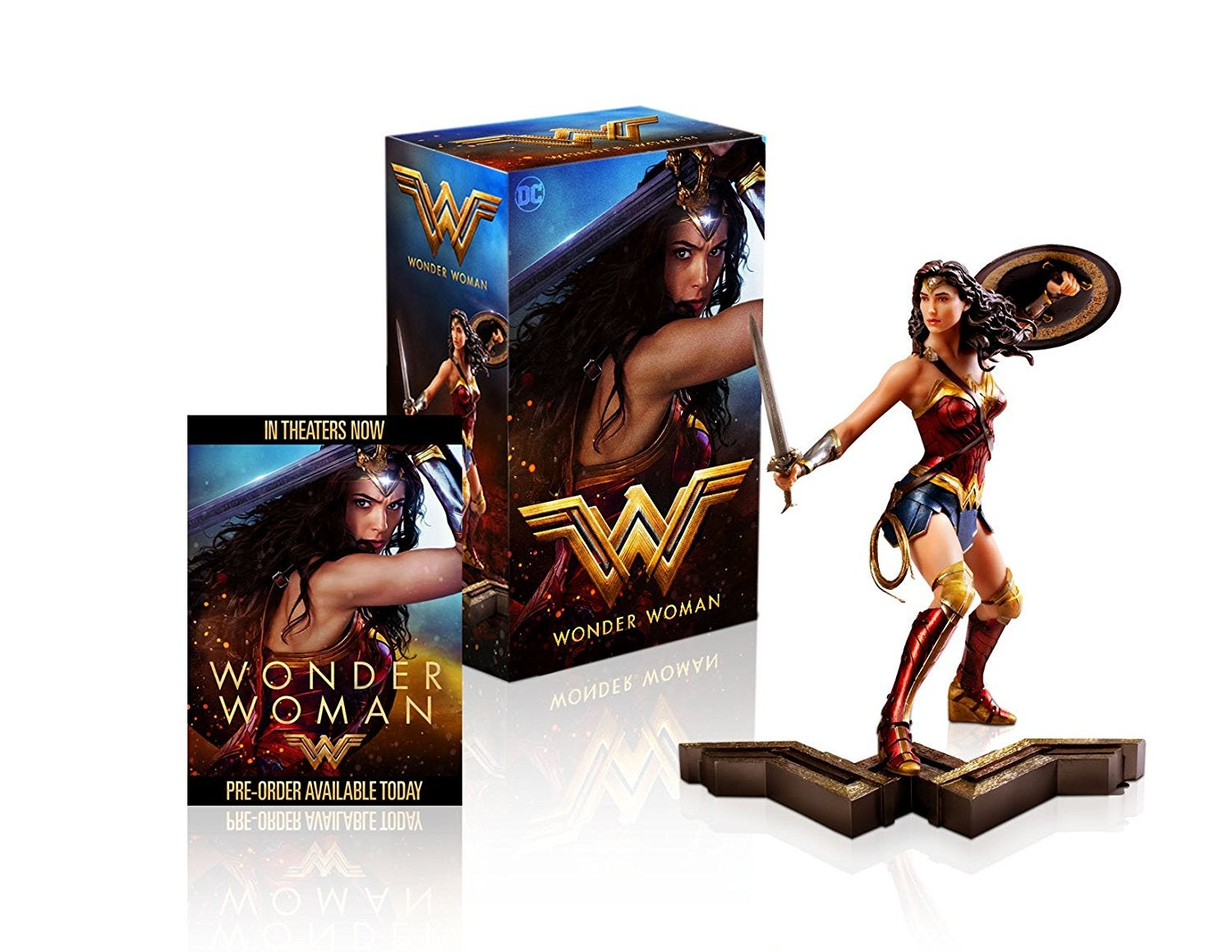 wonder woman blu ray gift set